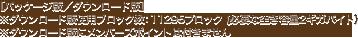 ※ダウンロード版使用ブロック数:11295ブロック(必要な空き容量2ギガバイト) ※ダウンロード版にメンバーズポイントは付きません