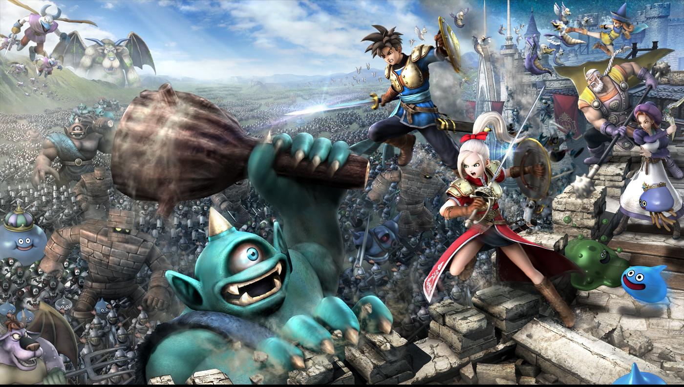 ドラゴンクエストヒーローズ 闇竜と世界樹の城 公式サイト Square Enix