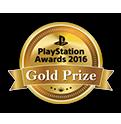PlayStation Awards 2016 Gold Prize