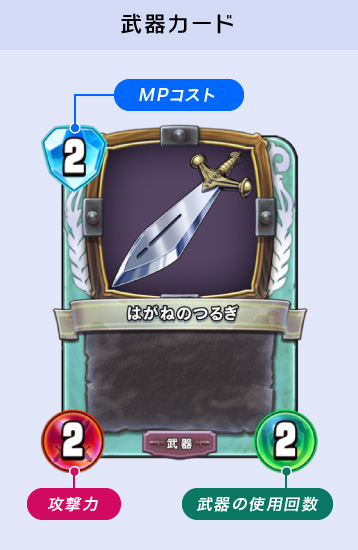 武器カード